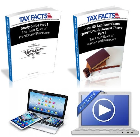 Tax facts tax court exam self study ebooks and lessons videos product code ssebf1 130000 fandeluxe Choice Image